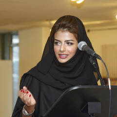 Sheikha Manal bint Mohammed Al Maktoum, President of the Dubai Women's Establishment
