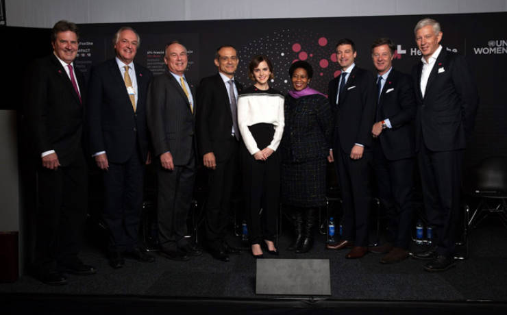 "The ""HeforShe"" signatories: Unilever, Tupperware, etc"
